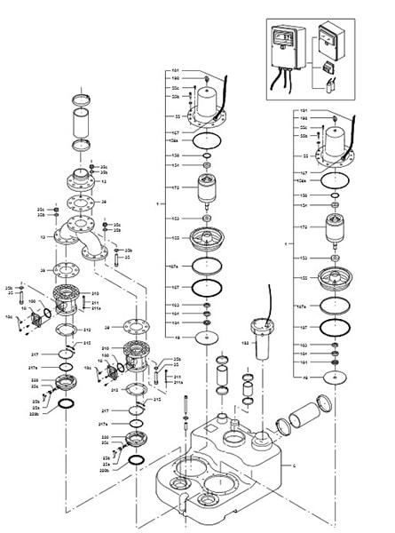 Деталировка Grundfos Multilift